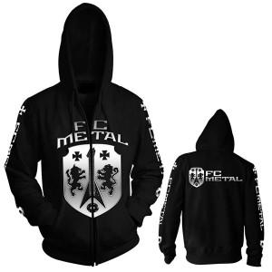 FC Metal zipped hoodie