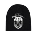 FC Metal beanie front